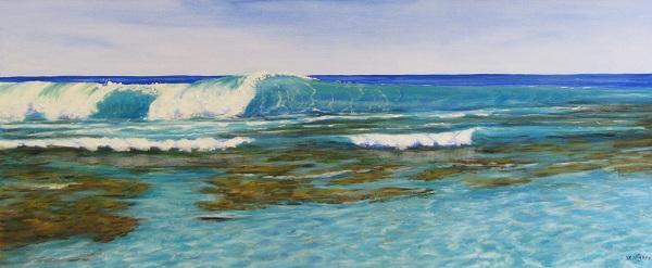 Wave Break by Steve Vigors