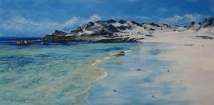 Longreach Beach - Rottnest by Steve Vigors