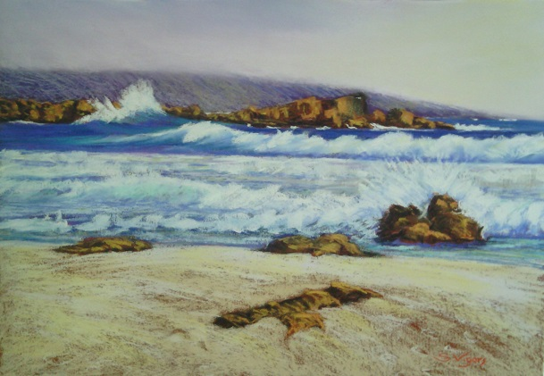 Surf Break (Pastel) 2016